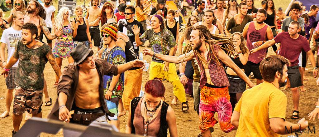 Lost Theory Festival dancing