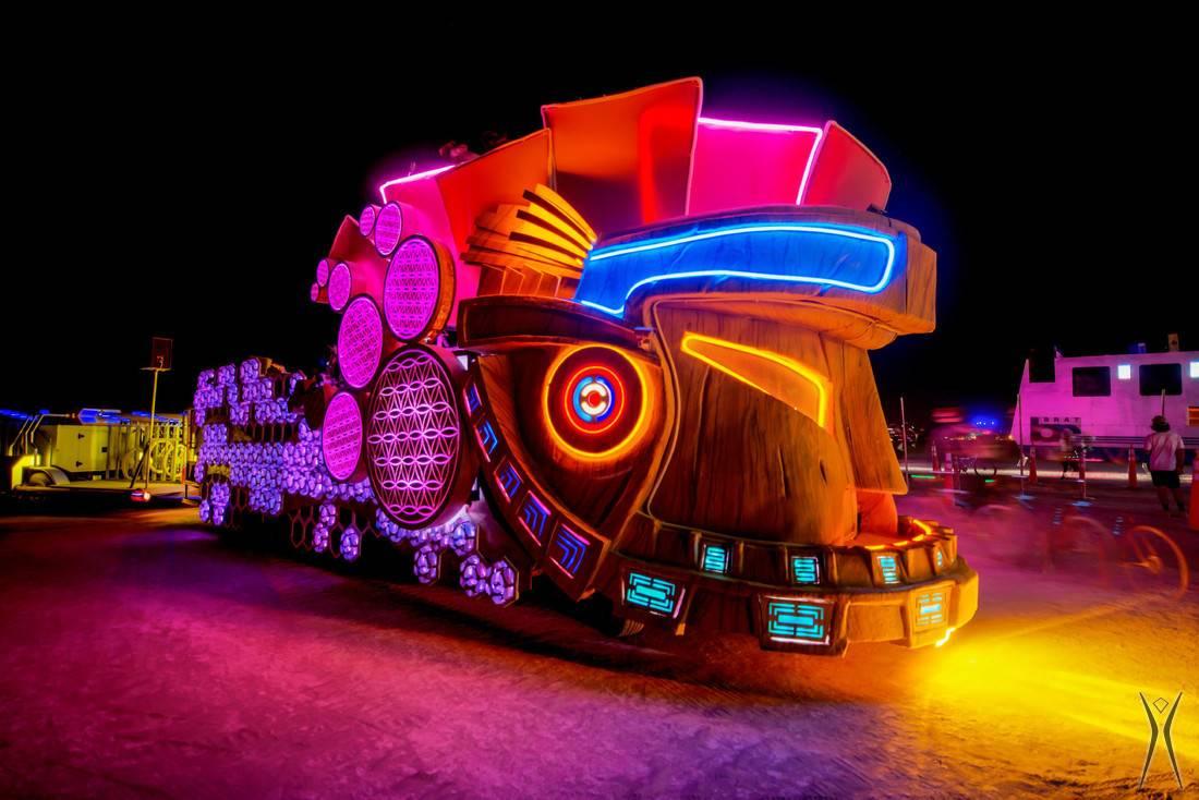 Burning Man Joyride John Chandler Photography