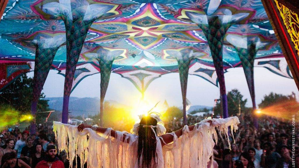 Lost Theory Festival Spiritual healing (Photo by losttheoryfestival.com)