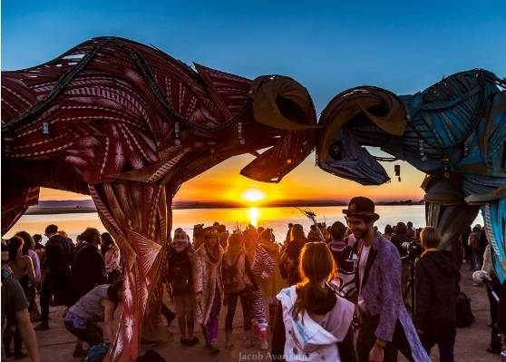 Symbiosis Gathering Sunset Jacob Avanzato Photography