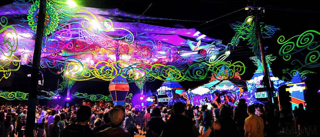 Lost Theory Festival Decoration (Photo by Magic M Photography)