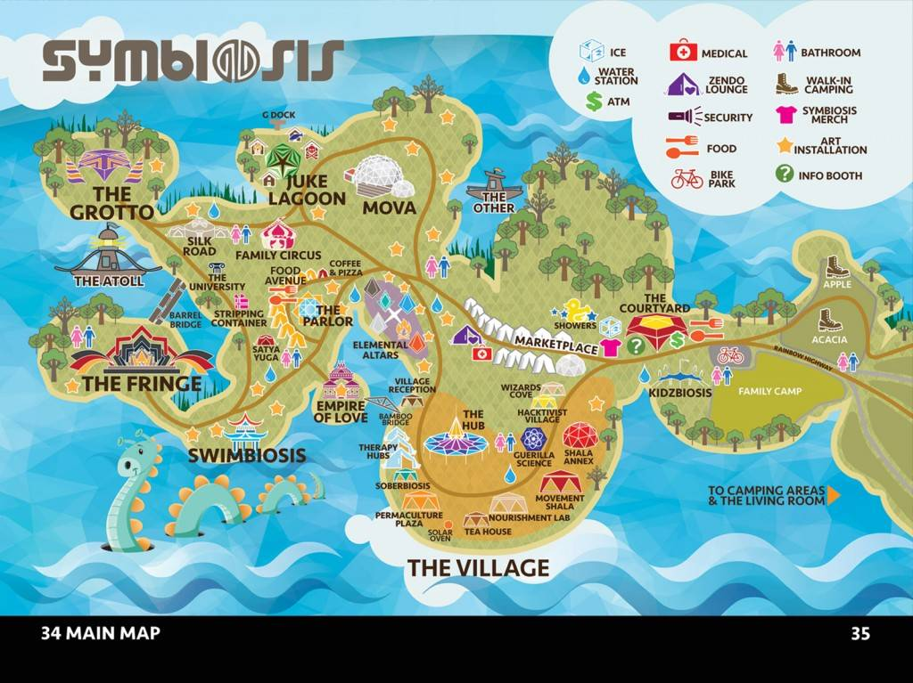 Symbiosis Gathering Graphic unknown; Courtesy of Symbiosis Gathering website