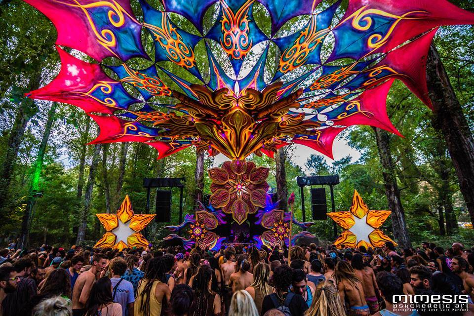 mimesis-psychedelic-art connection 2016