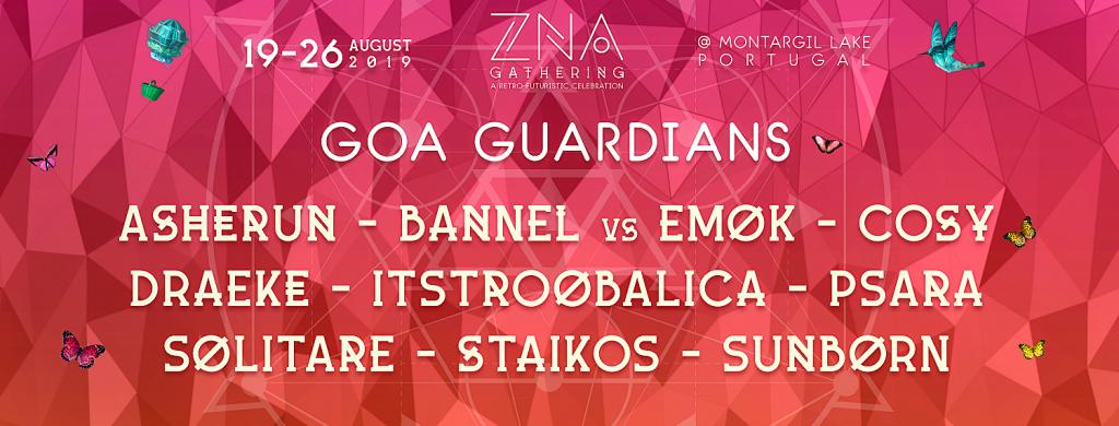 ZNA Gathering Goa Guardians lineup