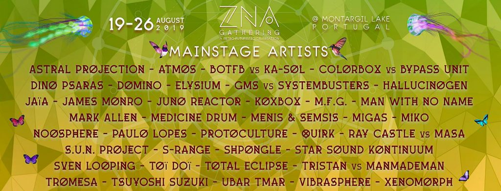 ZNA Gathering 2019 Main Stage lineup