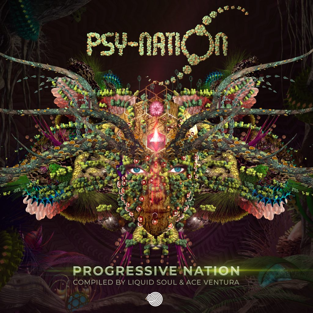 Progressive Nation - compiled by Ace Ventura & Liquid Soul - Psy-Nation