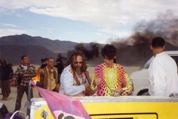 Goa Gil & Space Tribe en Burning Man 1998